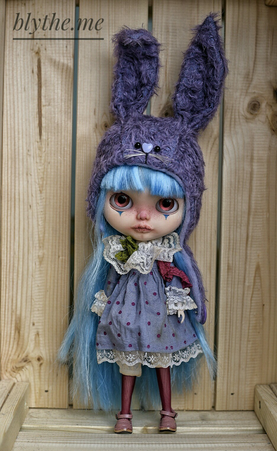 Turquoise Circus // Adopted // Blythe.me